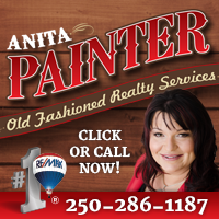 gocampbellriver.com ad for Anita Painter
