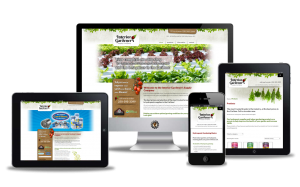website design for Interior Gardeners 100 Mile House