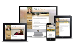 talk to fran website design
