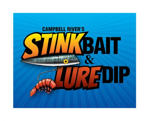 CR Stink Bait logo design