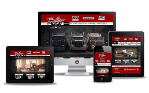 Bailey Western Star website designed by Vancouver Island Designs