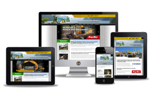 coastalheavyrepair.com website designed by Vancouver Island Designs