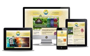 Hygro Gardening website design by Vancouver Island Designs