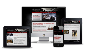 North Island Machine Works website design by Vancouver Island Designs