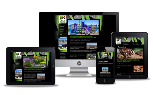 Oasis Hydroseeding website design