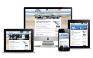 Saratoga Beach website design by Vancouver Island Designs