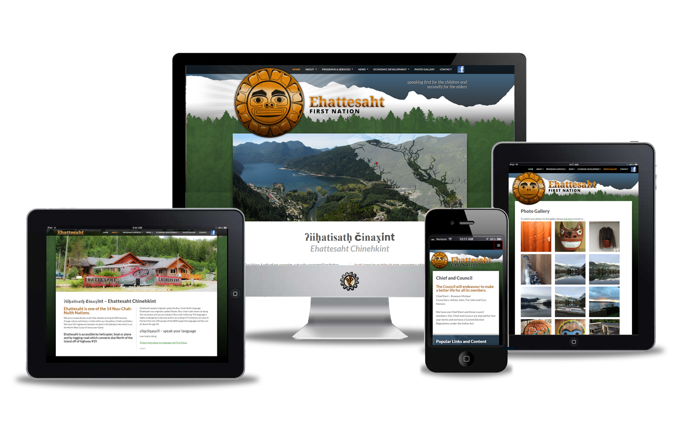 ehattesaht website design