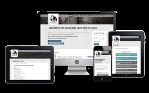 Online Learning website design
