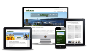 port mcneill website design