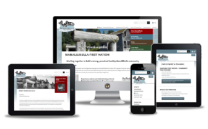 website design for first nation