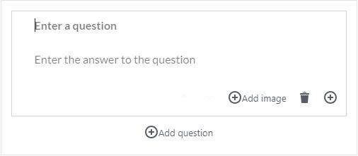 FAQ Content Block