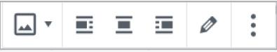 Image Formatting Toolbar