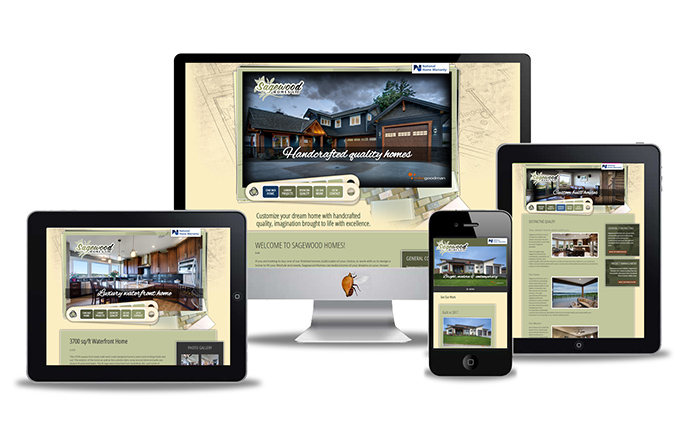 custom home builders website