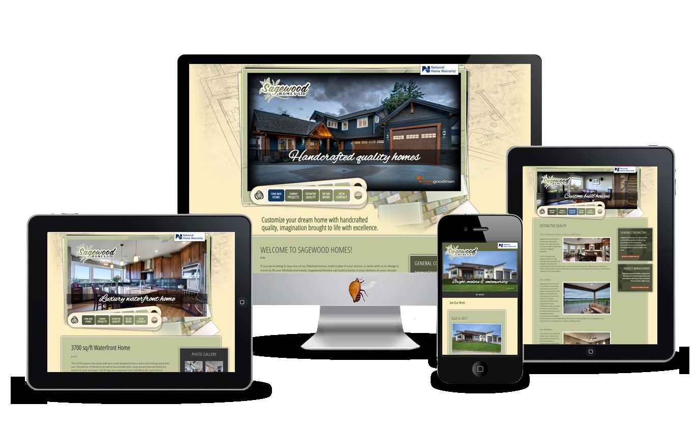 custom home builders website