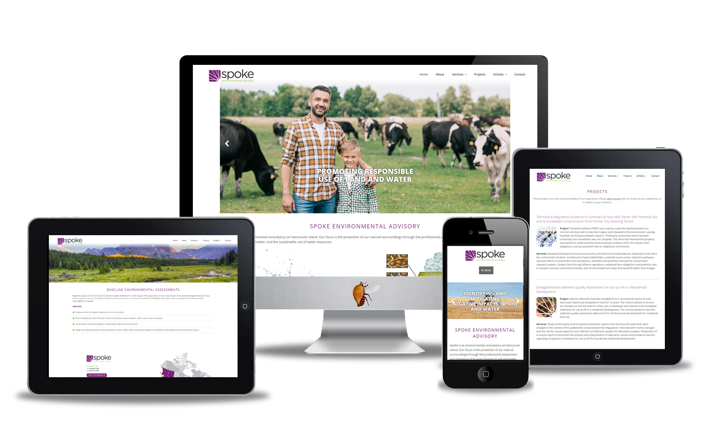 environmental website design
