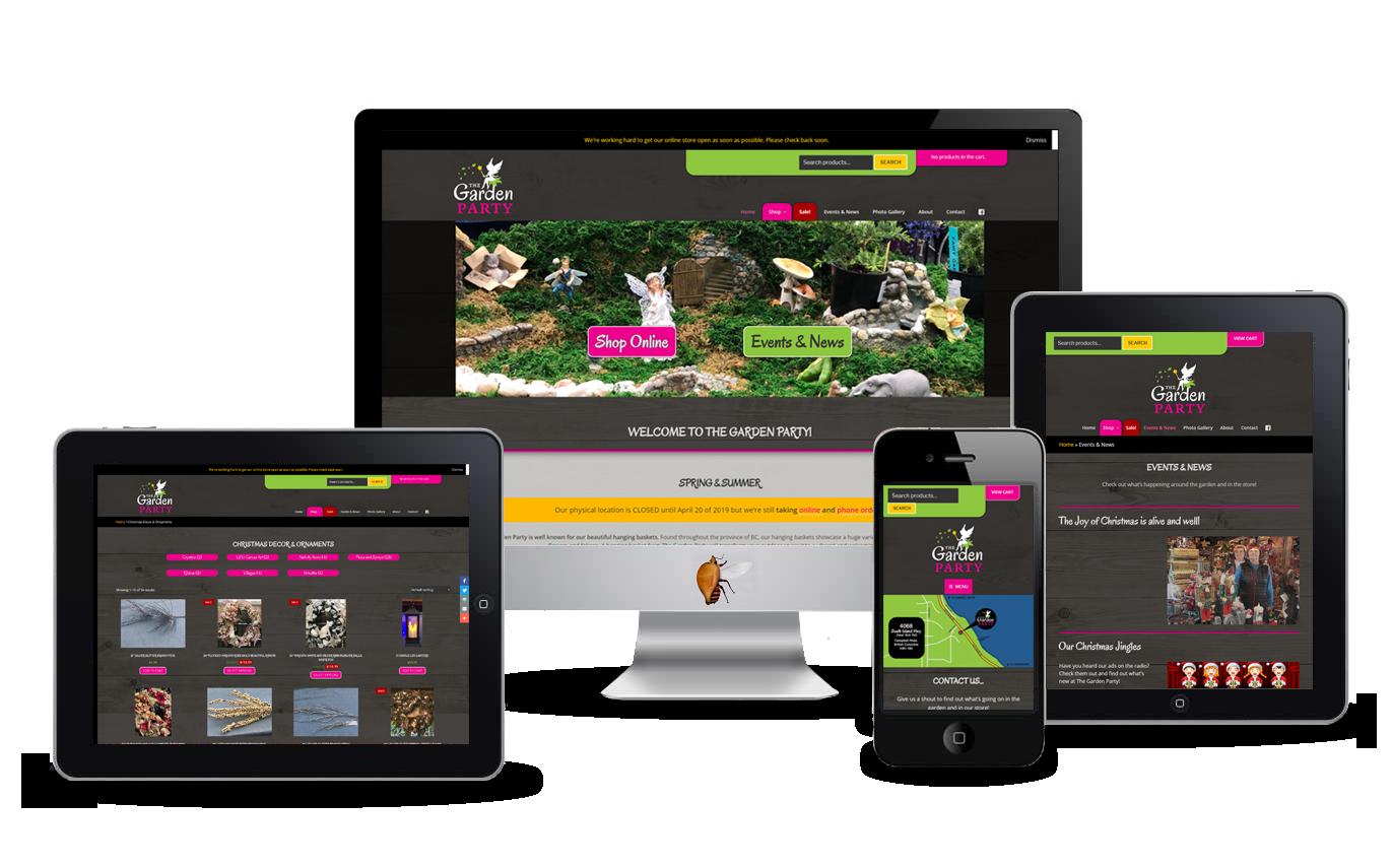 garden store website