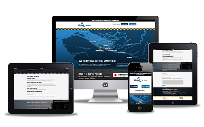 palyn water taxi website design
