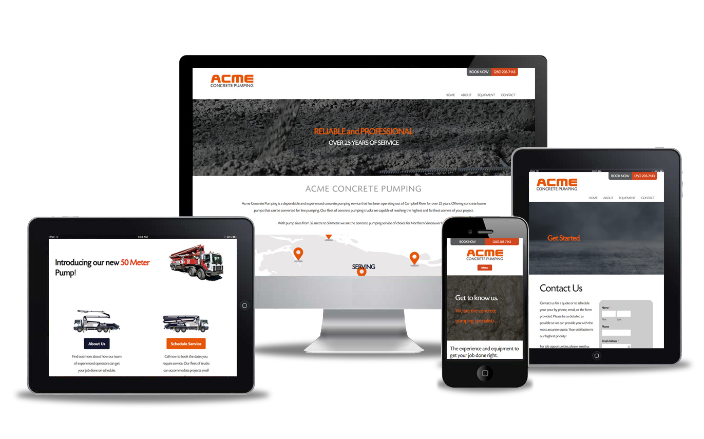 concrete pumping website