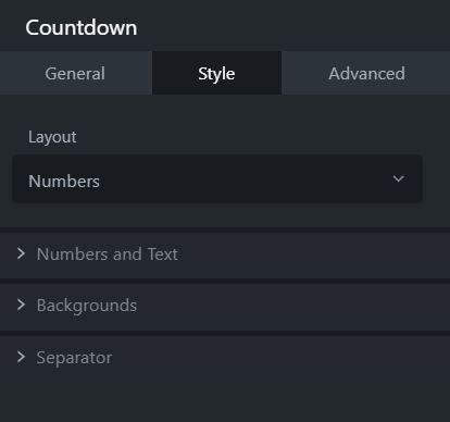 countdown module