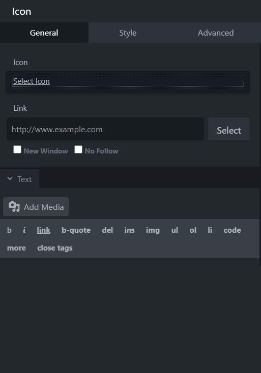 icon module