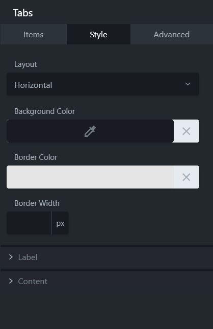 tabs module