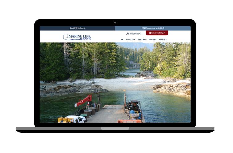 cruise website design